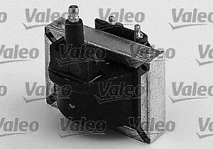 Valeo 245054 Ignition Coil 3 Pins Black Full Electronic FI System SAE Spare