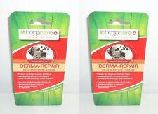 (100ml=9,88€) 2x Bogacare Hund Derma-Repair Wundsalbe Creme Salbei, 2x40ml