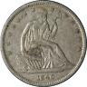 1840-P Seated Half Dollar Nice AU Superb Eye Appeal Strong Strike