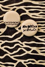 Joy Division - Handmade Button Badges - Post-punk - Factory Records - Manchester