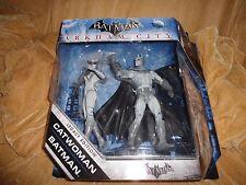 Batman Arkham City Catwoman / Batman Legacy Edition Figure 2-Pack (Black&White)