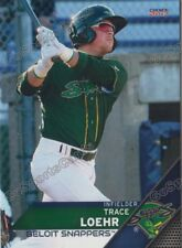 2017 Beloit Snappers Trace Loehr RC Rookie Oakland Athletics