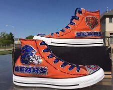 Crystallized Chicago Bears Shoes-Custom-made Any Team Any Sport Sz7-11