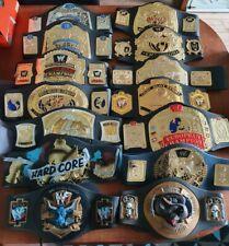WWE Jakks Pacific Championship Kids Title Belt Collection WWF RARE Foam