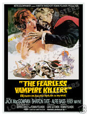 THE FEARLESS VAMPIRE KILLERS LOBBY CARD POSTER OS 1967 SHARON TATE