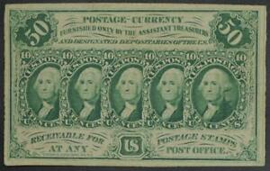 Fr. 1312 50¢ Fifty Cents 1st First Issue Fractional Currency No Reserve 99C Open