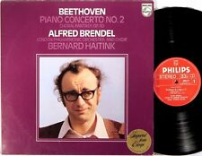 PHILIPS Beethoven ALFRED BRENDEL Piano Concerto #2 HAITINK 9500 471