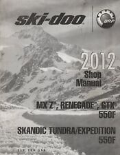 2012 Ski-Doo Snowmobile ( see Cover List ) Shop Manual 219 100 599 (633)