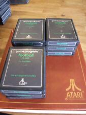 ATARI 2600 REGION FREE OFFERS/COMBINE - TEXT LABEL A - CX2625 FOOTBALL
