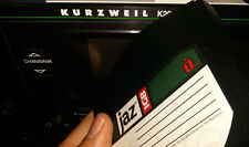 Iomega jaz floppy with 550 programs for Kurzweil k2000 k2500 k2600 k2661 k2600r