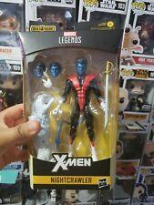 Marvel Legends Nightcrawler action figure Wendigo BAF series X-Men NIB