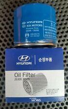 OEM 2 Genuine Hyundai i30 Petrol Oil filters with Sump plug gaskets