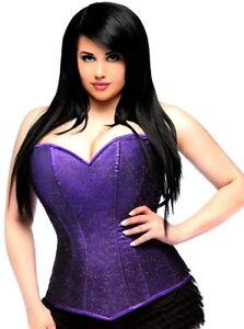 Daisy corsets Women's Lavish Glitter Sweetheart Neckline Corset # 6XL