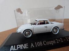 "Alpine miniature 1/43 - A108 Coupé 2+2  1961 -  UH ""Collection Renault"""