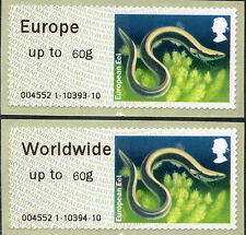 WINCOR LAKES NEW EUROPE & WW to 60g RATES IN MATCHED PAIR POST & GO
