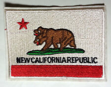 """Fallout New California Republic Flag 3.5"""" Embroidered Patch-USA Mailed (FOPA-07)"""