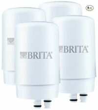 Brita On Tap Faucet Replacement Filter - 4 Pack - White NEW