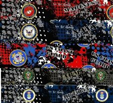 100% Cotton Fabric Military Variety of Choices by Eighth yard 1/8 (9