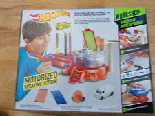 2014 HOT WHEELS WORKSHOP MOTORIZED AIRBRUSH AUTO DESIGNER CUSTOM DESIGN CAR SET