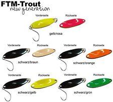 5 FTM Spoon Tango 1,8g - Forellenköder Set, Blinker, Forellenblinker