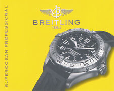 BREITLING SUPEROCEAN PROFESSIONAL ANLEITUNG INSTRUCTIONS I483