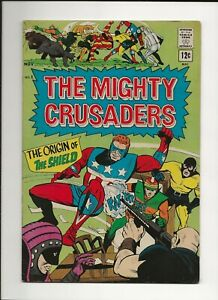 MIGHTY CRUSADERS #1 1965 ARCHIE SILVER AGE SUPER-HERO 1ST ISSUE VG