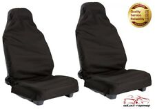 WATERPROOF FRONT CAR SEAT COVERS BLACK 1+1 FOR NISSAN MURANO ALL YEARS