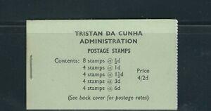 TRISTAN da CUNHA 1965 booklet 4sh2d (Scott SB4) VF MNH