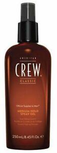American Crew Classic Fiber Medium Hold Spray Gel 250ml