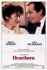 HEARTBURN Movie POSTER 27x40 Meryl Streep Jack Nicholson Steven Hill Richard