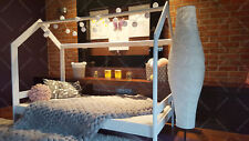 Children Bed Bunk House Kids Bed Frame Kinderbett TWIN, FULL, QUEEN dimension