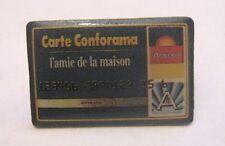 Great Advertising badge Finance Banking Carte Conforama