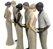 Wedding Cake Topper Figurine Light Skin Tone Bride