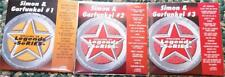3 CDG KARAOKE DISCS SIMON & GARFUNKEL LEGENDS CD+G OLDIES ROCK MRS ROBINSON