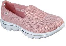 SKECHERS GOwalk Evolution Womens Slip On Fitness Walking Trainers Rose Pink 7