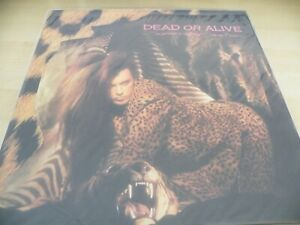 DEAD OR ALIVE SOPHISTICATED BOOM BOOM  CLEAR VINYL UNPLAYED