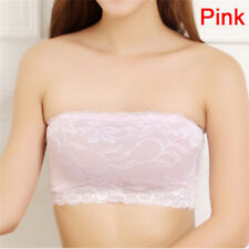 20be7e4b65 New Women Soft Bra Strapless Seamless Boob Bandeau Tube Tops Sports HC