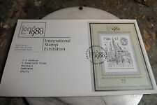 First Day Cover London 1980 Internation Stamp Exhibition