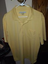 GREG NORMAN PLAY DRY GOLF SHIRT......SIZE LARGE...NWOT...