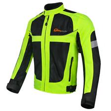 Giacca Moto Riflettente con protezione rimovibile Traspirante alta visibilità