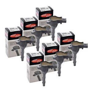 Set of 6 Delphi Ignition Coils GN10235 For Sprinter, M..Benz  all Series 05-15