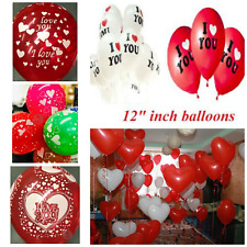 Valentines day Balloons Heart Romantic I Love You His/Her Boy/girlfriend Baloons