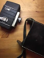 Vintage Bell & Howell Electric Eye Movie Camera Camcorder w/ Case 10mm