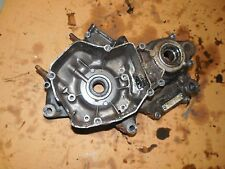 honda cr125 cr 125 left LH engine center main crank case block crankcase 88 1988