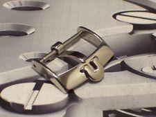 Original Swiss Omega Edelstahl Dornschließe Buckle 18 mm Lagerware Neuwertig