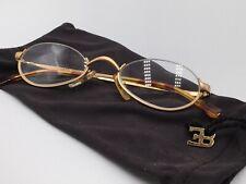 ETORRE BUGATTI 03701 halbe Brille Lesebrille Nylor Gold Classic 48-21 Medium