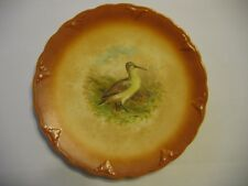 Antique plate Petrus Regout & Co.  Maastricht, Holland  Game Bird