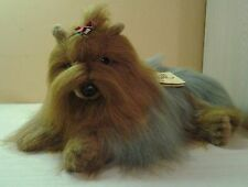 "Yorkshire Terrier Avanti 1986 Vintage Rare HTF Plush 16"" Designed In Italy NWT"