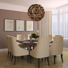 Beautiful Modern Large 9 Light Bronze Metal Chandelier by Veraluz FREE SHIPPING