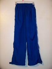 Augusta Youth Boys Mesh Lined Wind Pants Blue Size Medium Euc!